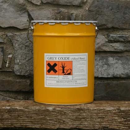 Grey oxide paint
