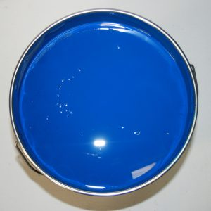 Blue machinery enamel