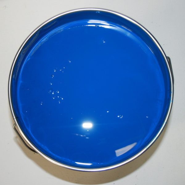 Blue machinery enamel