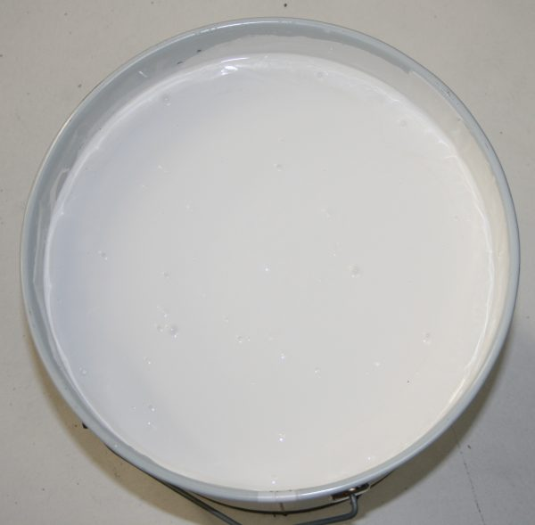Can of white Protectafence